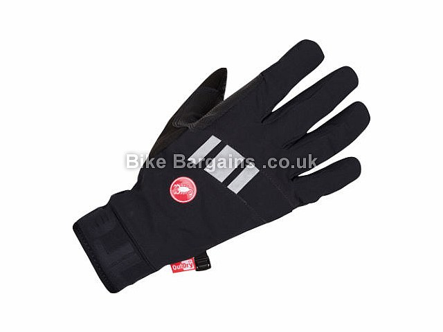 Castelli Tempesta Waterproof Gloves XXL, Black