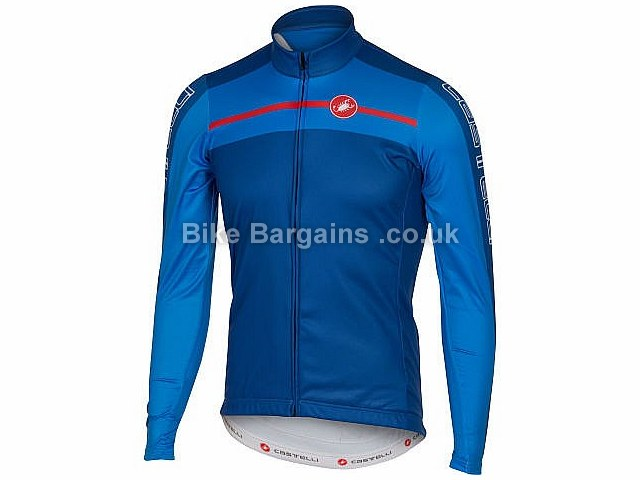 Castelli Velocissimo FZ Long Sleeve Thermal Cycling Jersey 2016 L, XL