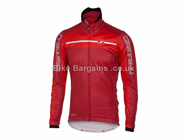 Castelli Velocissimo Windstopper Jacket S,M, Grey, Red