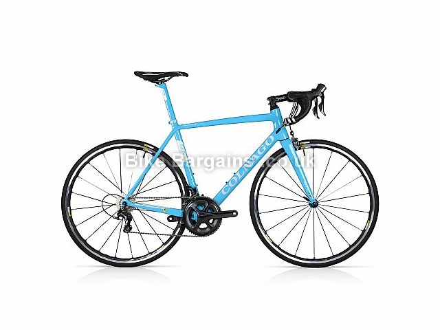 Colnago V1R LTD Custom Carbon Road Bike 2016 52cm, Blue, Carbon, Calipers, 11 speed, 700c