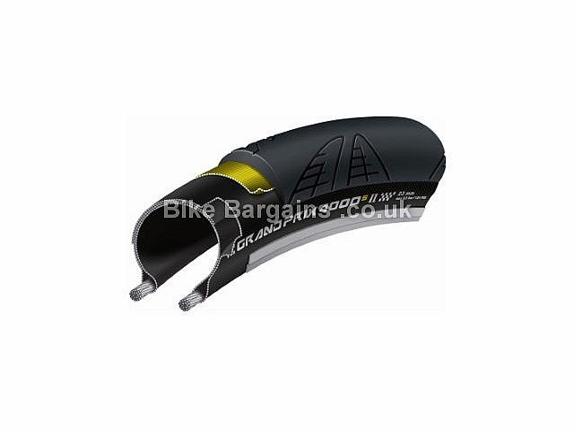 Continental Grand Prix 4000S II Reflex Folding Road Tyre Black, 700c, 25c, 28c