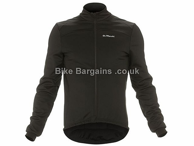 De Marchi Windproof Zipped Jacket 2 XXL, Black