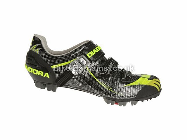 Diadora Protrail 2.0 Carbon MTB Shoes 38, 39, 40, 41, Black, Yellow