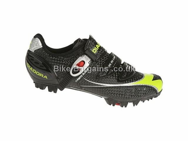 Diadora X-Trail 2 Carbon MTB Shoes 41, Black, White