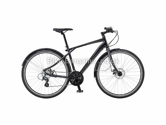 GT Traffic 1.0 Alloy Hybrid Bike 2015 S,Black