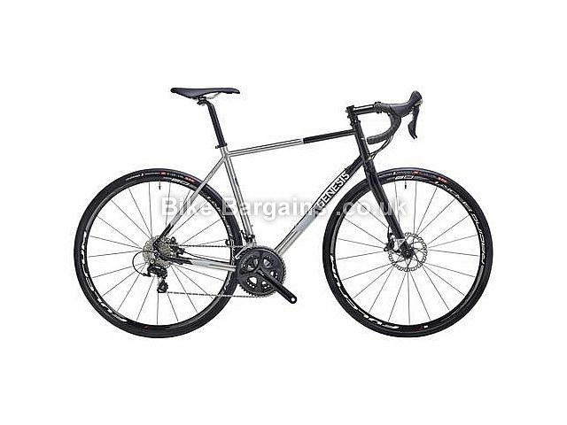 Genesis Equilibrium Disc Reynolds 931 Road Bike 2016 Silver, Black, XS