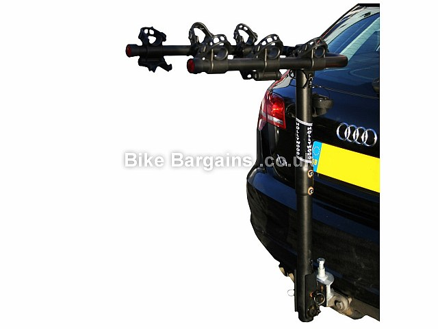 Hollywood Traveller 3 Bike Towball Car Rack 3 bikes, black