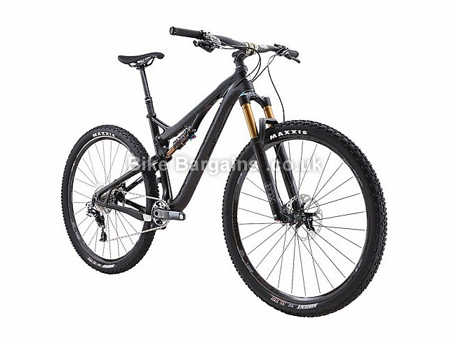 "Intense Spider 29C Pro Build 29"" Carbon Full Suspension Mountain Bike 2016 Black, M"