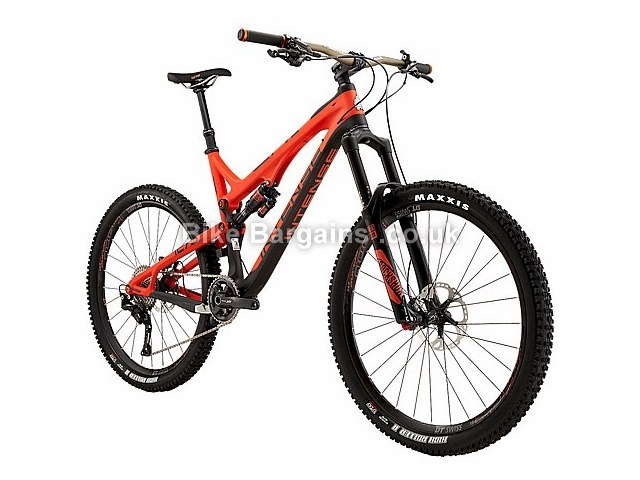 Intense Tracer 275C Expert Build Full Suspension Mountain Bike 2016 Red, Black, XL