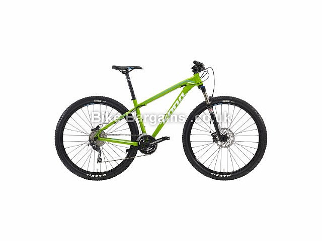 Kona Kahuna Alloy Hardtail Mountain Bike 2016 Green S