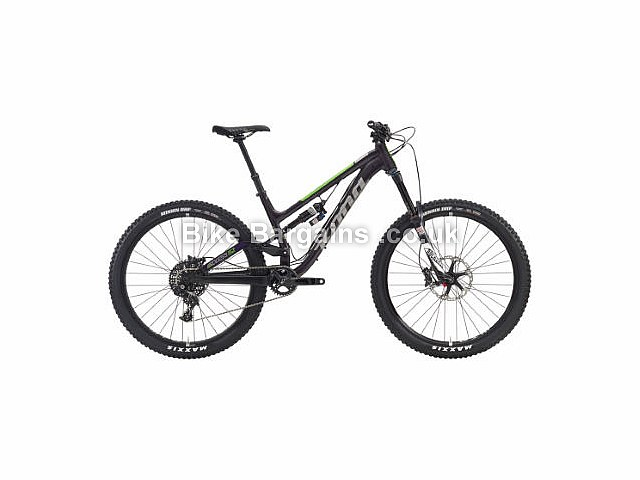Kona Process 153 DL Full Suspension Mountain Bike 2016 Purple, Silver, Red, L