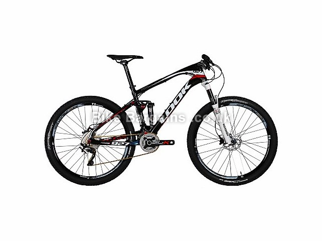 Look 927 Carbon Full Suspension Mountain Bike Black, White, Red, M
