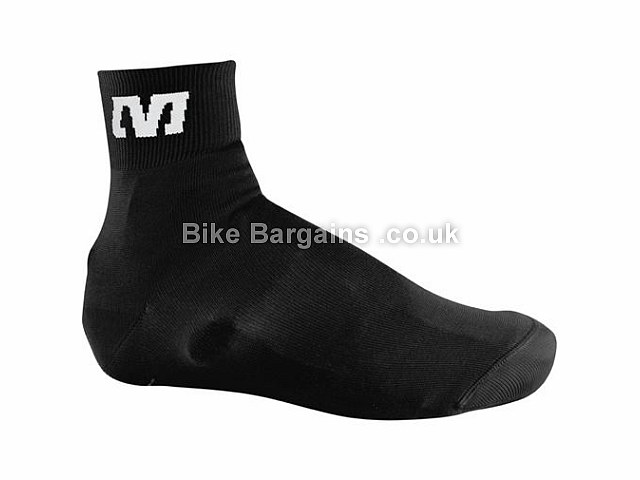 Mavic Knit Cycling Shoe Covers M, Black - L is extra