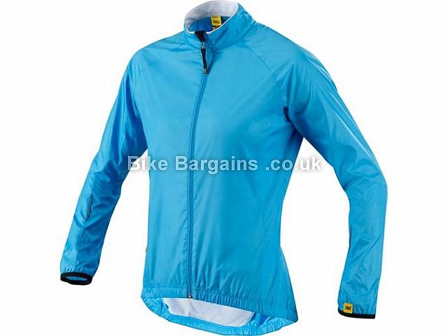 Mavic Windproof Cloud Ladies Jacket 2015 L, Black, Women's, Long Sleeve