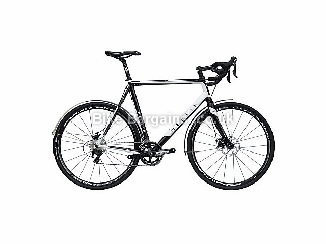 Merlin X2.0 105 AR Commuter Cyclocross Bike 2016 White, Black, XS