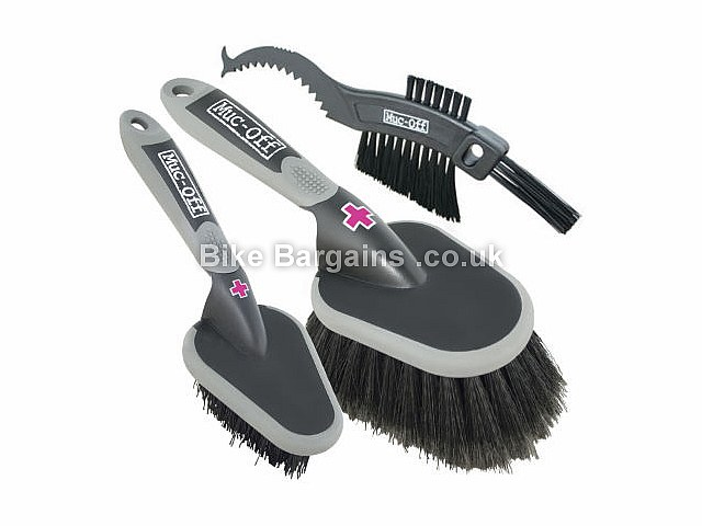 Muc-Off 3 Brush Cleaning Set 3 Brush set