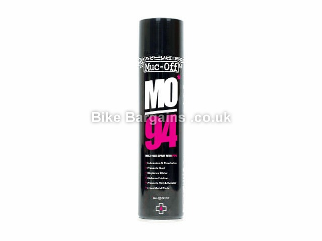 Muc-Off MO94 Multi-Use Bike Lubrication Spray Black, 400ml