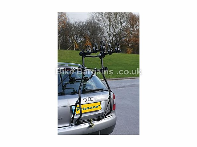 Peruzzo Hi-Bike High Rise 3 Bike Car Rack 3 bikes, black