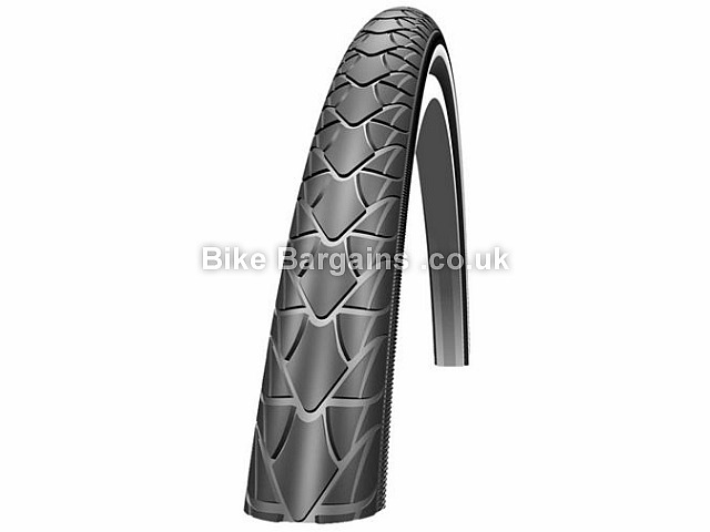 Schwalbe Marathon Racer Road Cycling Tyre Wire, 700c, 35c, Black