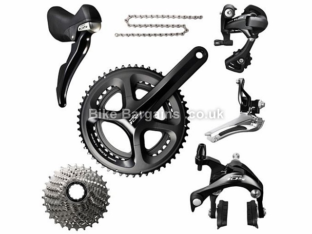 Shimano 105 5800 11 Speed Road Groupset 170mm, 172.5mm, 175mm