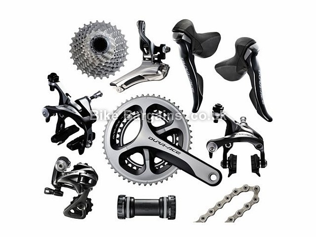 Shimano Dura-Ace 9000 11 Speed Road Groupset 170mm, 172.5mm, 175mm