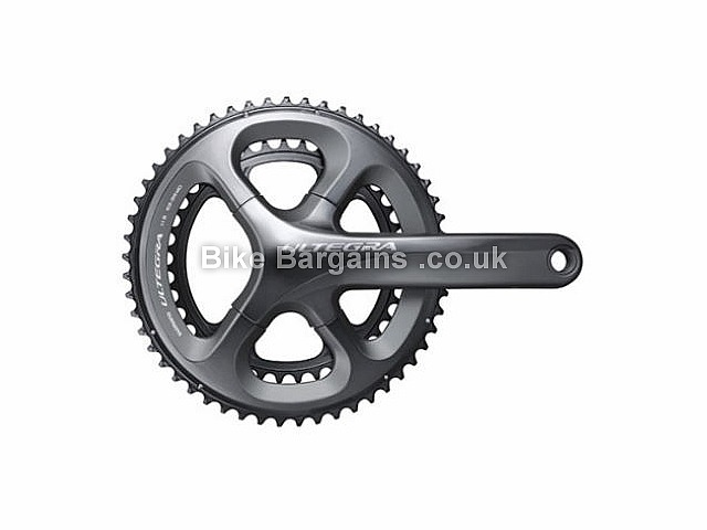 Shimano Ultegra 6800 11 Speed Road Cycling Chainset 797g, 175mm, Grey - other options are £149