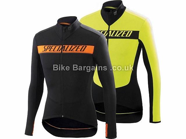 Specialized Element SL Race Long Sleeve Jersey 2016 S,M,L,XL,XXL, Black, Orange, Yellow