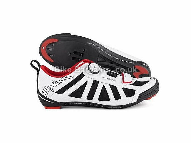 Spiuk Progeny Triathlon Cycling Shoes White, 37
