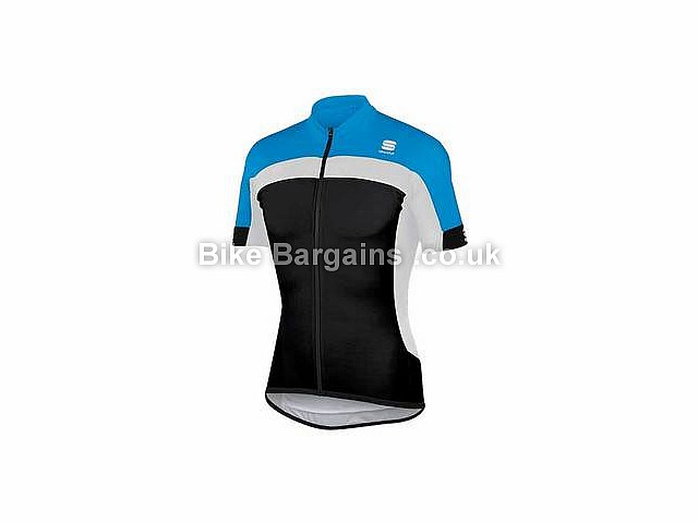 Sportful Pista Short Sleeve Cycle Jersey M,XL,Black,Yellow