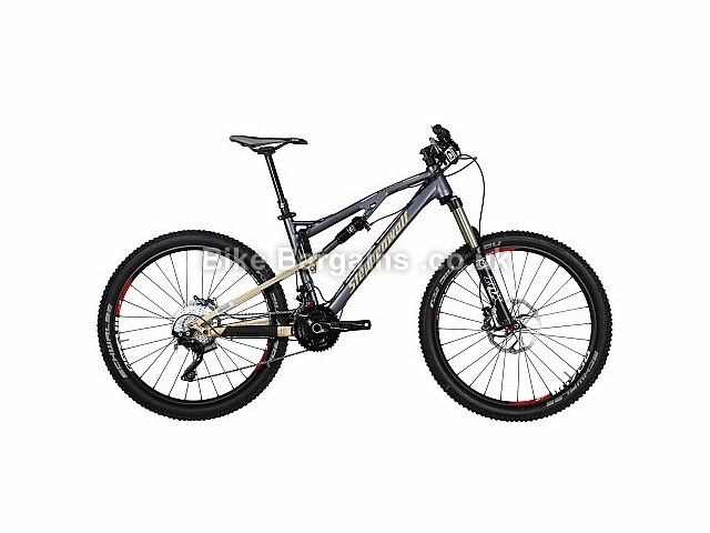 Steppenwolf Tycoon AM70 Full Suspension Mountain Bike Grey, S, M