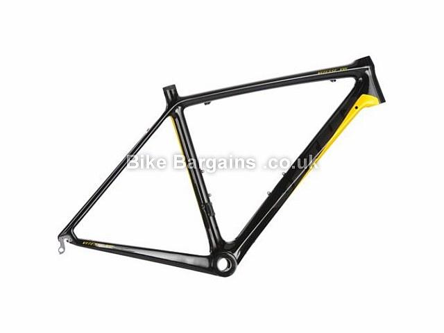 Vitus Bikes Vitesse VRI Carbon Road Frameset 2013 58cm, Black, Yellow