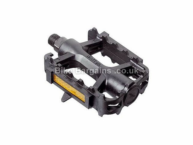 Wellgo Basic Plastic Pedals Black