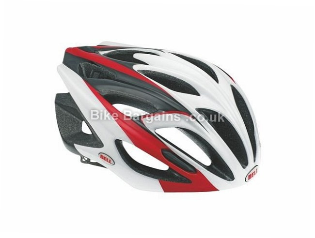 Bell Alchera Cycle Helmet M, L, red, black, 18 vents
