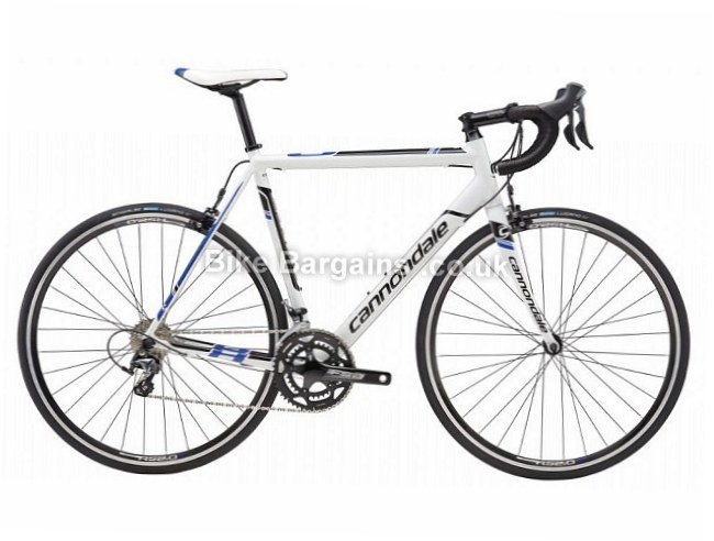 Cannondale Caad8 6 Tiagra 6061 Alloy Road Bike 2016 58cm, White