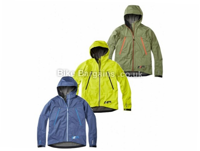 Madison Addict Softshell Waterproof Jacket XXL, Green