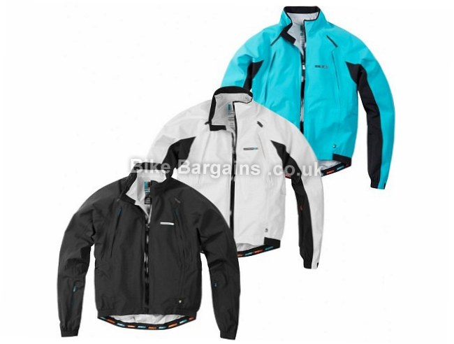 Madison Road Race Apex Waterproof Jacket XL, black, white