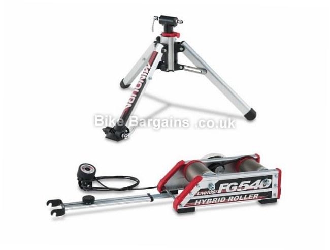 Minoura FG540 Hybrid Roller Turbo Trainer 7 levels
