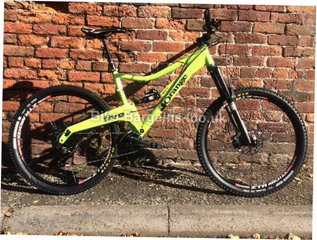 Orange Five Custom Build Full Suspension Mountain Bike L