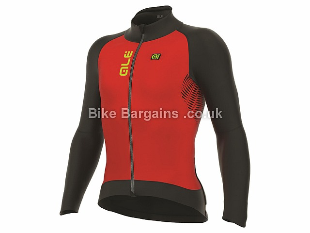 Ale Nordik Cycling Jacket S, Black, Red