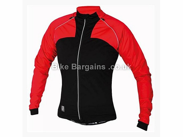 Altura Ladies Transformer Windproof Jacket 10, Red, Black