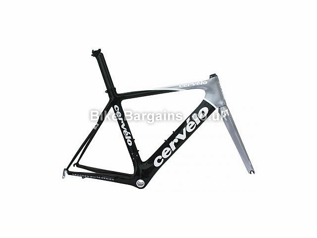 Cervelo S3 Carbon Caliper Road Frameset 2009 56cm, Black, Grey, Carbon, Caliper Brakes, 700c