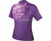Endura Ladies Singletrack II Short Sleeve Zip Jersey