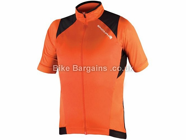 Endura MTR Windproof Short Sleeve Jersey 2017 M, Orange