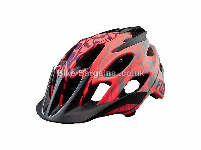Fox Clothing Ladies Flux Helmet XS,S, Pink, 380g, 17 vents