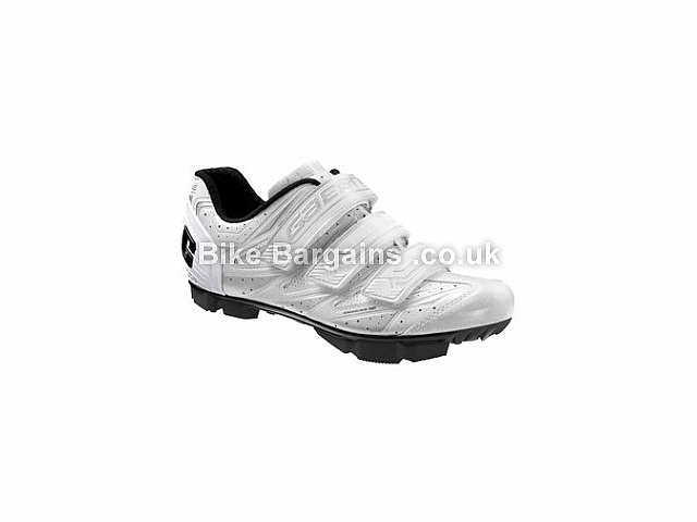 Gaerne Venere Lightweight MTB SPD Shoes 42, White, front studs