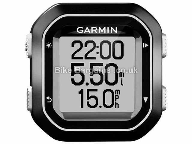 Garmin Edge 25 GPS Cycling Computer Black