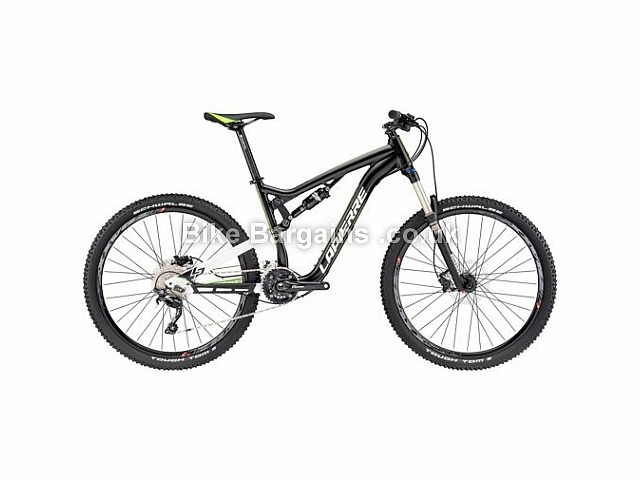 "Lapierre Zesty XM 227 Alloy Full Suspension Mountain Bike 27.5"", 46cm, Black, White, Green"