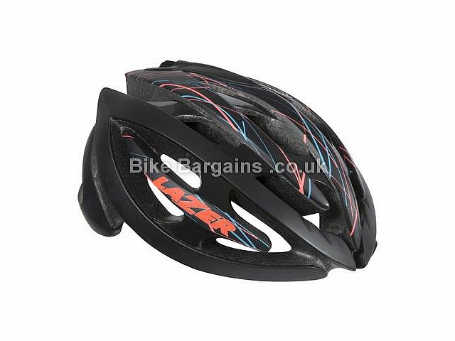 Lazer Sport Grace II Lifebeam Heart Rate Monitor Helmet Black, White, M
