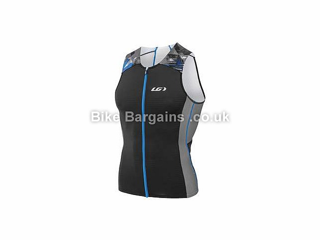 Louis Garneau Pro Carbon Cold Black Tri Top Yellow, Black, XS