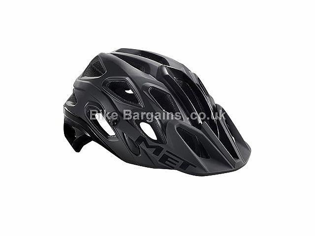 MET Lupo MTB Helmet M, Black, Pink